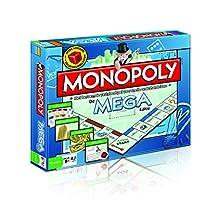 Monopoly Mega Editie NL - Bordspel - Mega snel, mega groot en word mega rijk in deze mega editie van Monopoly! - Voor de hele familie - Taal: Nederlands