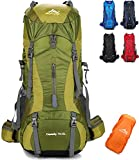 Best Hiking Backpacks - onyorhan 70L+5L Backpack Travel Trekking Hiking Camping Climbing Review