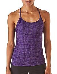 es Ropa Amazon Tops Camisetas Y Mujer Blusas Morado gqFBSwR