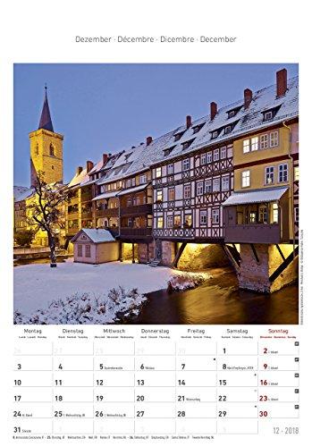 Thüringen 2018 - Bildkalender (24 x 34) - Landschaftskalender - 14