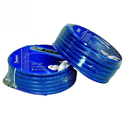 MICHELIN 6711311020 Tuyau Raccord Rapide PVC 20 m Bleu