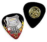Tea Rocks Guitar Pick Badge Plectrum (R1) - Best Reviews Guide