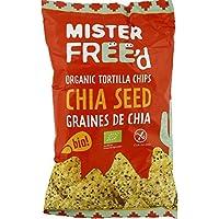 Mister Free d Tortilla chips graines de chia Le paquet de 150g - Livraison Gratuite pour les commandes en France...