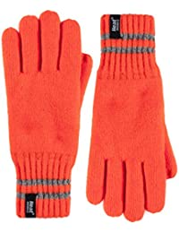 Heat Holders - Homme hi vis reflechissants chaud polaire hiver anti froid travail gants