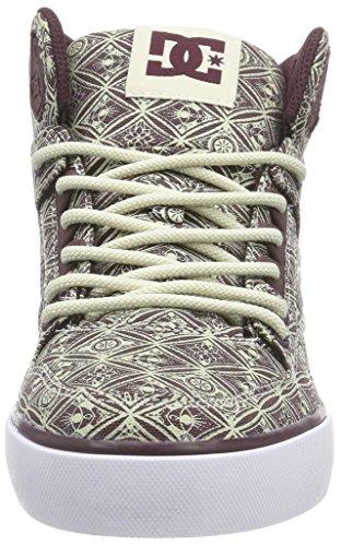 DC Shoes SPARTAN HIGH WC J SHOE MAR, Sneaker alta donna Marrón