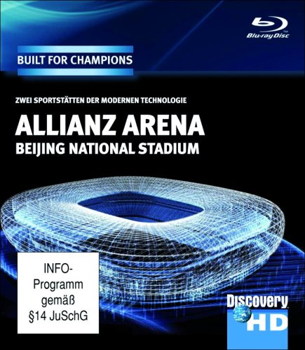 Discovery HD: Built for Champions - Allianz Arena+Beijing Stadium [Blu-ray]
