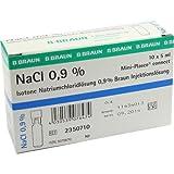 Isotone Kochsalzlösung 0,9% Miniplasco 5 ml, 10 St.
