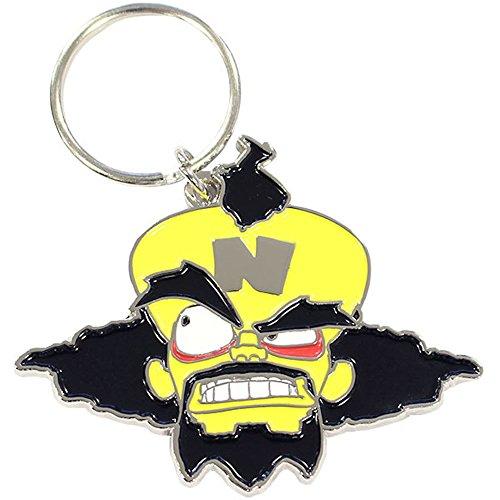 Official Crash Bandicoot Dr Neo Cortex Key Chain Ring