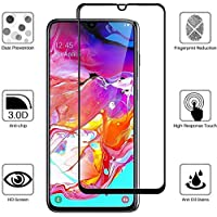 Toge For Samsung Galaxy M31 Screen Protector 9H Hardness,Full Coverage,No bubbles No Fingerprint Scratch Resistant High-quality Tempered Glass Film For Samsung Galaxy M31 (1 Pack)
