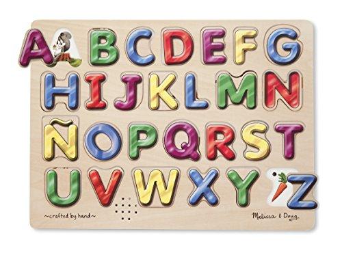 sches Alphabet-Puzzle mit Audio in spanischer Sprache, 27-teilig (Melissa Und Doug Alphabet-puzzle)
