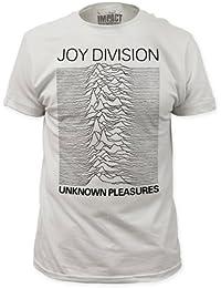 Joy Division - Plaisirs d'hommes inconnus adapté le T-shirt en blanc, Large, White