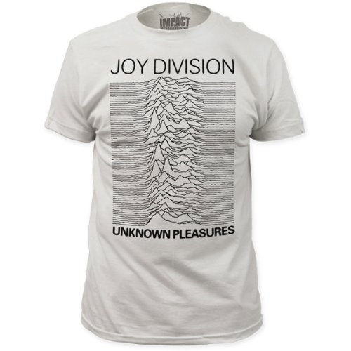 Joy Division Mens Unknown Pleasures Fitted T-Shirt - S to XXL