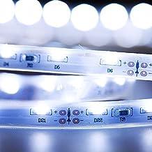 Mextronic led tira Cinta LED tira led 335 Blanco azul (10000K) 24W 500CM 12V IP67