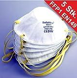 Staubmaske 5Stück FFP1 EN149 Atemschutzmaske Feinstaubmaske Schutzmaske