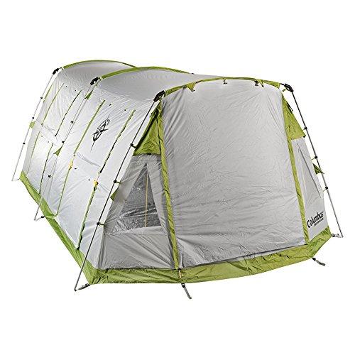 Columbus Tenda da Campeggio Twister 4 Verde/Grigio