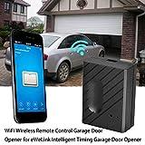 Lacyie Ouvre-Porte de Garage sans Fil WiFi pour ouvre-Porte de Garage télécommandé...