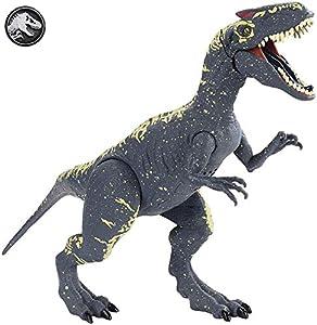 Jurassic World Dino Sonidos Allosaurus, dinosaurio de juguete (Mattel FMM30)
