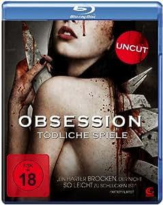 Obsession - Tödliche Spiele (Uncut) [Blu-ray]