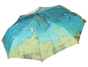 Creative parapluie pliable compact, carte du monde