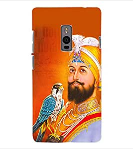 ColourCraft Lord Guru Gobind Singh Back Case Cover for ONEPLUS TWO