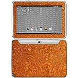 atFolix Samsung Galaxy Note 10.1 (2012 Edition) Skin FX-Glitter-Orange-Juice Designfolie Sticker