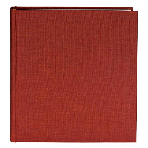 Goldbuch Fotoalbum, Summertime, 30 x 31 cm, 100 weiße Seiten mit Pergamin-Trennblättern, Leinen, Rot, 31707
