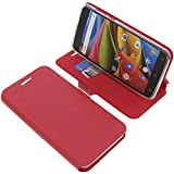 Cover for Archos 55b Cobalt Lite book-style red case