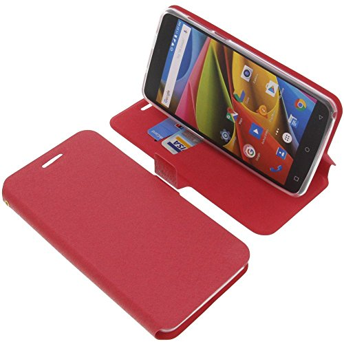 foto-kontor Tasche für Archos 55b Cobalt Lite Book Style rot Schutz Hülle Buch