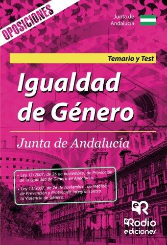 Igualdad de genero para las oposiciones de la Junta de Andalucia. Temario y Test