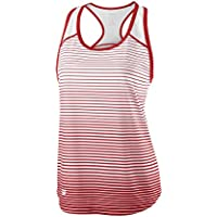Wilson Women's W Team Striped Tennis Tank Top