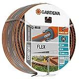 Gardena Comfort FLEX 50m Multicolor - Manguera de jardín (50 m, Multicolor, 25 bar)