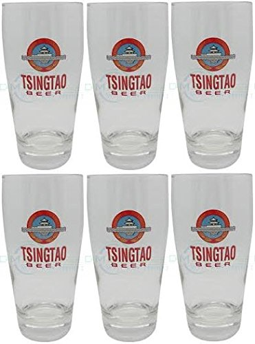 6-x-tsingtao-mezza-pinta-di-birra-in-vetro-set-di-6-bicchieri-da-330-ml