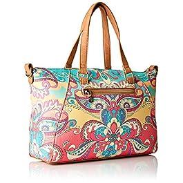 Desigual Woman Bag Model Grand Valkiria Piadena Coral