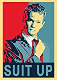 Suit Up Poster- red blue Poster Barney Stinson- LEGENDÄR und SELTEN! - Barney Stinson Poster SUIT UP - How I met your Mother Suit up Poster - LEGENDÄR Poster - Suit up day - That's gonna be legen ... wait for it ... dary Poster - Awesome - Awesomeness Suit up rot blau Poster