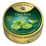Cavendish Caramelos de Menta - 1 Paquete de 9 x 22.22 gr - Total: 200 gr