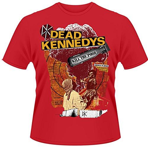Plastic Head Herren T-Shirts   - Rot - Red - Medium