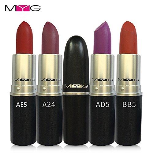 MYG Lipstick Retro Matte Lipstick 3g - Angel