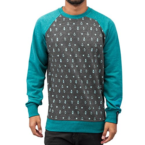 Just Rhyse Homme Hauts / Pullover Anchor Gris