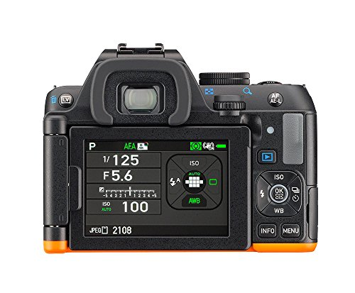 Pentax-K-S2-Corpo-Macchina-Sensore-CMOS-da-20-Megapixel-Senza-Filtro-AA-Display-LCD-Orientabile-da-3-Connettivit-Wi-Fi-ed-NFC-Nero-Arancio