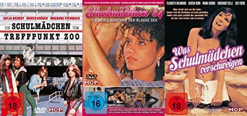 Sexy Classic - 3er Schulmädchen Report Collection - Die Schulmädchen vom Treffpunkt Zoo + Schulmädchen 84 + Was Schulmädchen verschweigen 3 DVD Edition