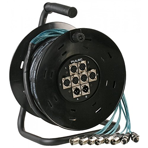 Pulse 15m 6in 2Out XLR Multicore Drum