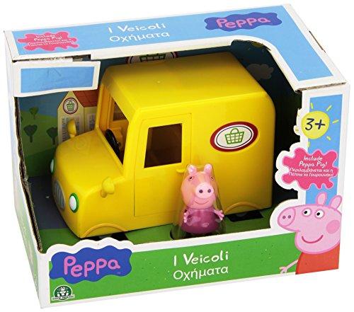 Giochi Preziosi - Peppa Pig Supermarkt Wagen Fahrzeug
