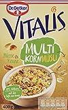 Dr. Oetker Vitalis Multikorn Müsli Nüsse & Kerne: Frühstücksmüsli mit Nüssen und Kernen, 8er Packung, (8 x 400 g)