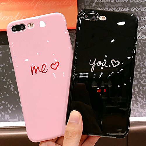 Galleria fotografica Cover iPhone 6S,Cover iPhone 6,Custodia iPhone 6S / iPhone 6 Cover,ikasus® 2pcs ragazzi ragazze coque riflessivo flessibile morbida custodia in TPU silicone custodia iPhone 6S / 6 disegno colorato TPU Custodia Cover [Crystal TPU] [Shock-Absorption] Protettiva Trasparente Ultra Sottile Silicone Gel Cover Custodia chic disegno colorato Clear Case Super Sottile Bumper Case Custodia Cover per Apple iPhone 6S / 6 4.7
