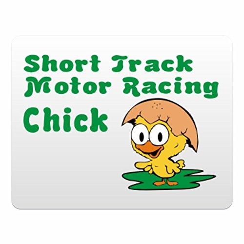 Eddany Short Track Motor Racing chick - Plastic Acrylic
