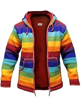 Abrigo,Vovotrade Los hombres tejieron la rebeca las capas largas del suéter de la manga