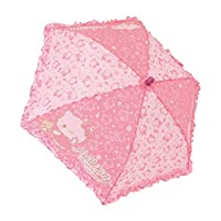Hello Kitty Ruffled Kids Umbrella/Sleep