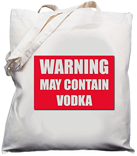 warning-may-contain-vodka-natural-cream-cotton-shoulder-bag