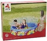 Jilong Rainbow Spray Pool Ø 150 x 30 cm Kinderpool Planschbecken Kinder Schwimmbecken mit Wassersprüher Wasserspritze mit Gartenschlauch-Anschluß
