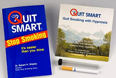 Quit Smoking Quit Smart Kit: How to Quit Smoking the Easy Way with the Quit Smoking Hypnosis CD, Quit Smart Stop Smoking Guidebook - It is Easier than You Think, and Quit Smoking Cigarette Substitute by Dr. Robert Shipley (2009) Paperback by QuitSmart Sto